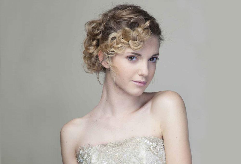 Parrucchieri Professionisti esempio taglio per sposa